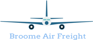 Broome Air Freight logo - colour